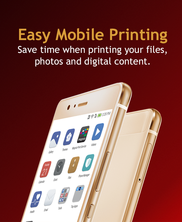 Huawei includes the Mopria Print Service as a system app in select phone models.