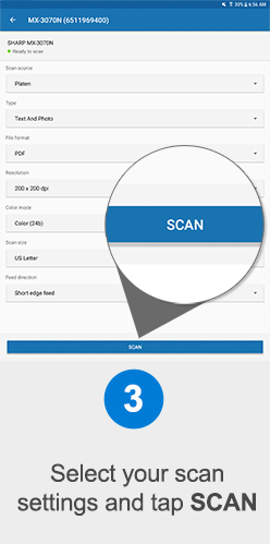 Scan to Android