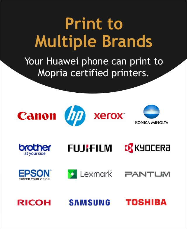 Print From Huawei